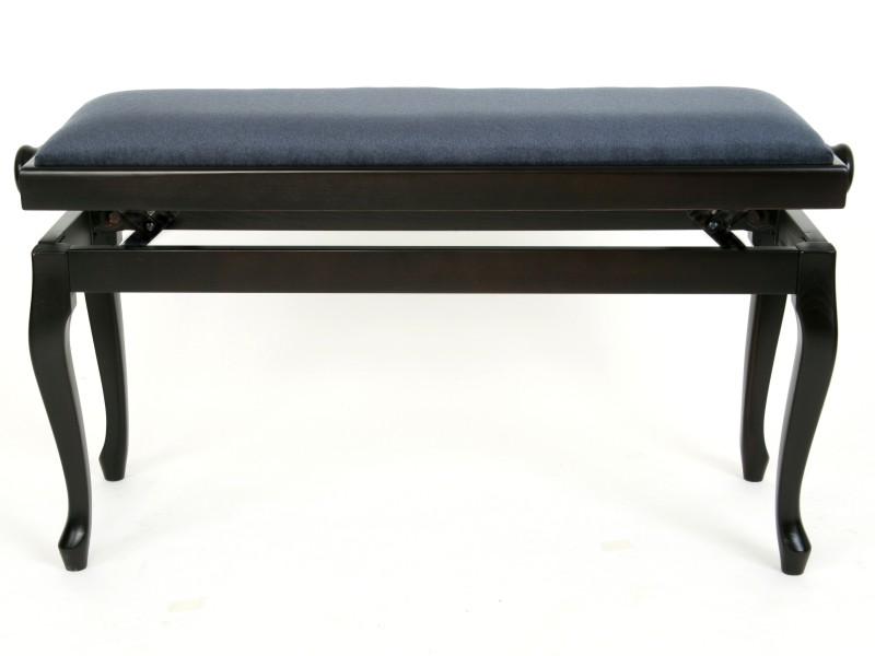 pliang stol ~ rosewood piano stool