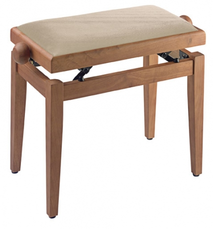 Stagg Piano Stool Wood Colours