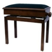 ms601b solo adjustable piano stool with storage