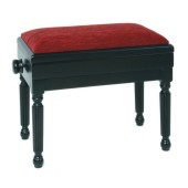 woodhouse ms601br adjustable box piano stool