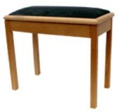 ms801 solo piano stool, fixed height